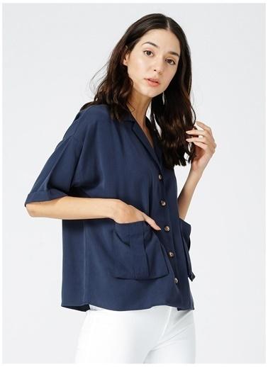 Fabrika Fabrika Kadın Lacivert Gömlek Lacivert